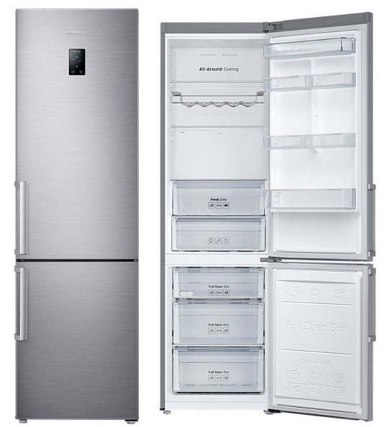 frigo combi no frost independiente rb37j5325ss ef samsung. Black Bedroom Furniture Sets. Home Design Ideas