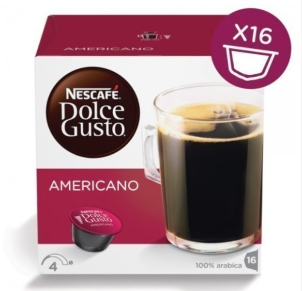 Gusto Dolce PACK16 Americano 12115461