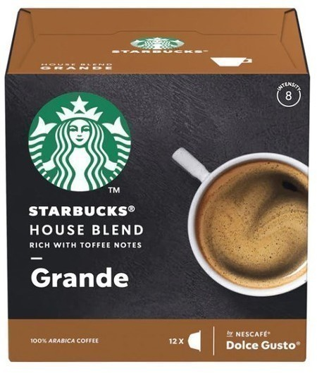 Gusto Dolce PACK12 Starbucks House Blend 98577