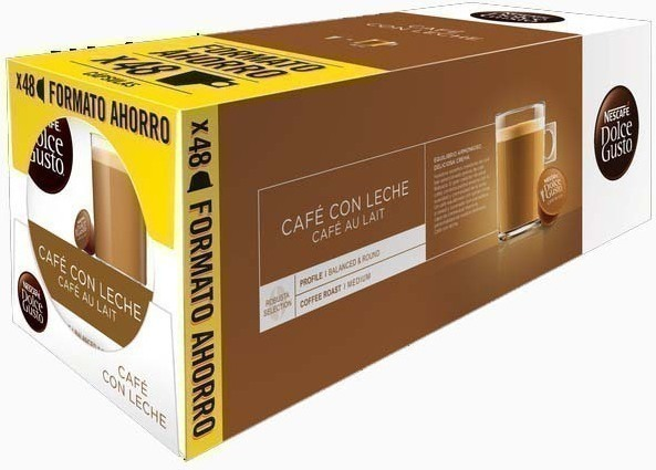 Gusto Dolce PACK3 Cafe-con-leche-tripack 16x3