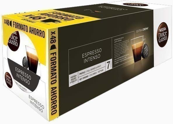 Gusto Dolce PACK3 Expresso-intenso-tripack 16x3