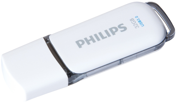 Pendrive Philips SNOW 32gb Gris 3.0